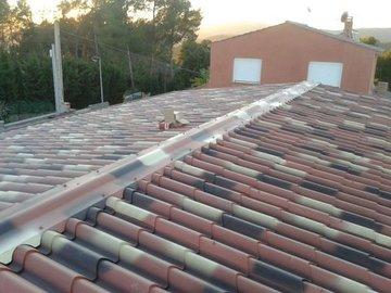 Tejado imitaci n teja cubiertas y fachadas del valles s l - Cubiertas imitacion teja ...