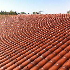 Empresa de instalaci n de tejados cubiertas y fachadas - Cubiertas imitacion teja ...
